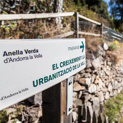 Descobreix l'evolució urbanística amb l'Anella Verda