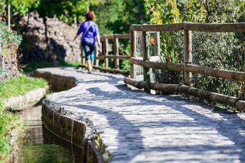 El Rec del Solà, per passejar amb vistes d'Andorra la Vella