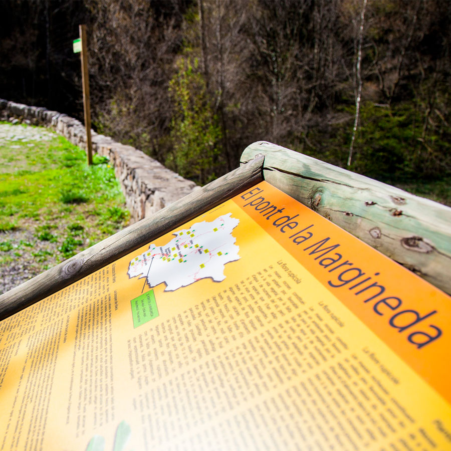 Mirador de La Margineda, descobrir la flora d'Andorra la Vella