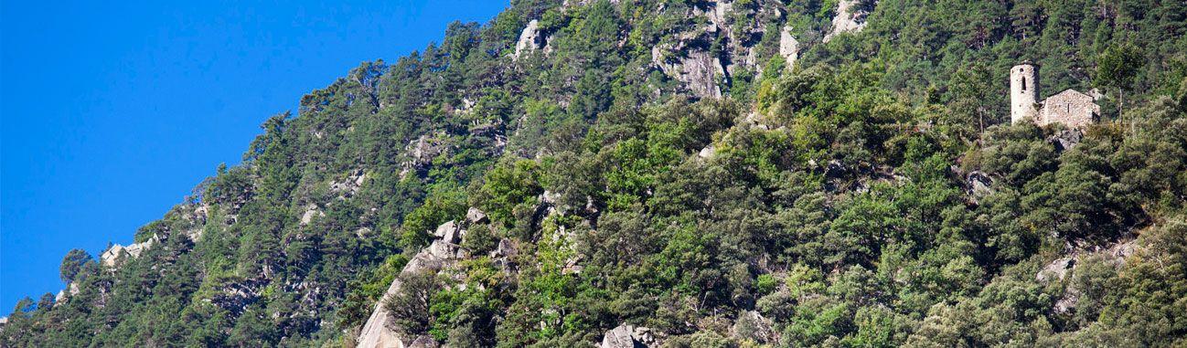Natura i arquitectura a la Vall d'Enclar