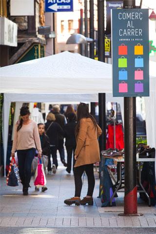 Botigues singulars i cafès, la zona chill d'Andorra la Vella