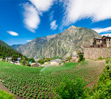 Els camps de tabac al estiu d'Andorra la Vella. No t'ho perdis!