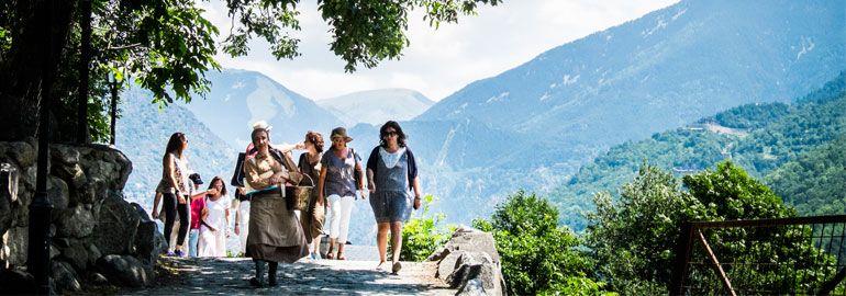 Gaudiu les visites guiades per famílies d'Andorra la Vella