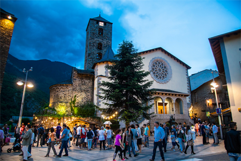 El centre històric d'Andorra la Vella és únic