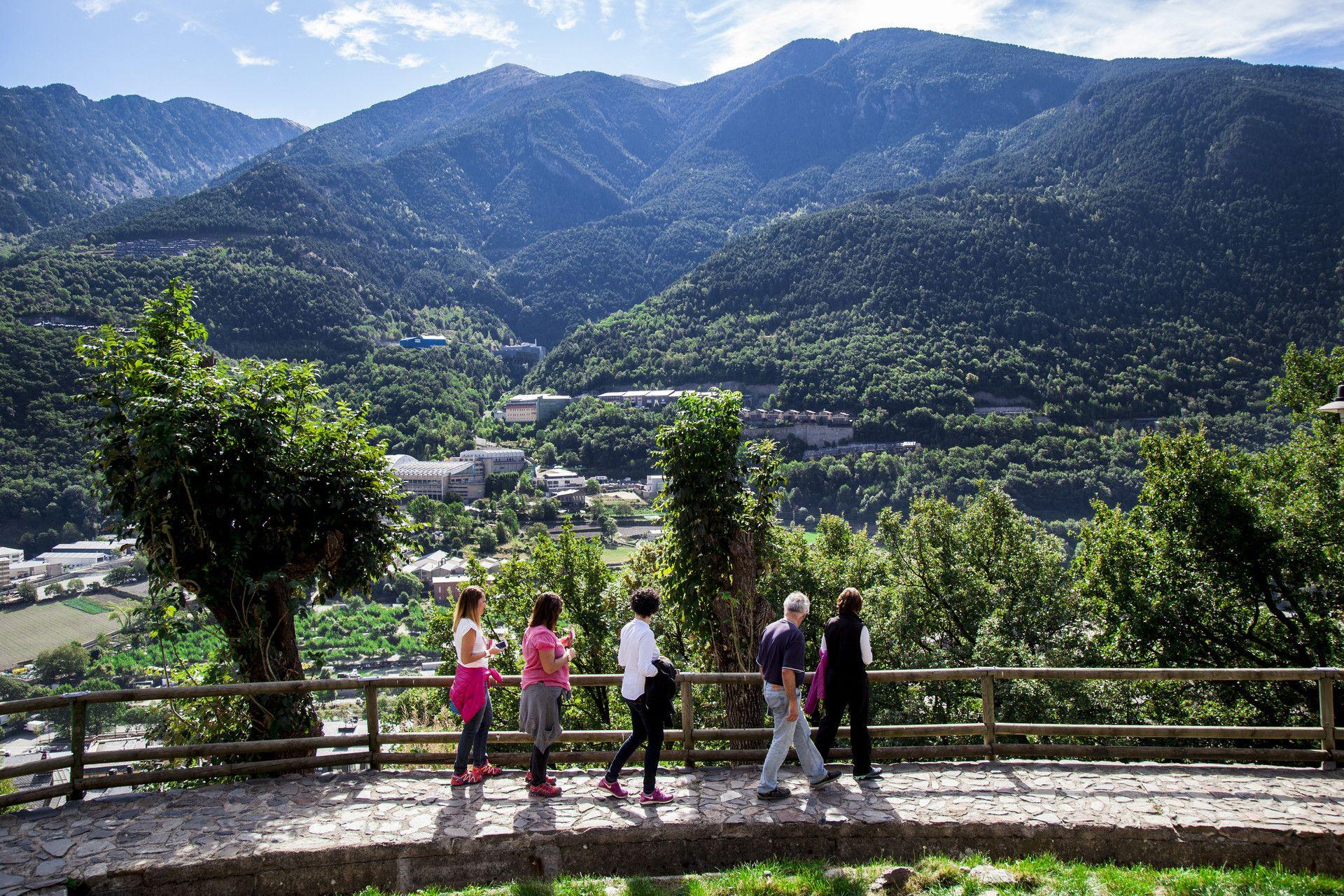 Itinerari Miradors de l'Obaga d'Andorra la Vella